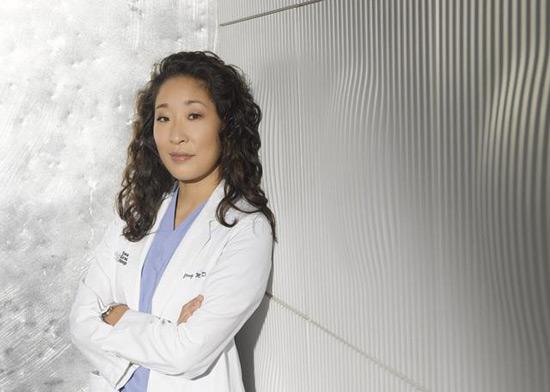 Sandra Oh as Cristina Yang