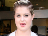 Kelly Osbourne leaving the Radio 1 studios, London