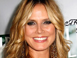 Heidi Klum at LA Confidential Magazine's pre-Emmy Party in Bel Air, Los Angeles