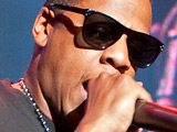 Jay-Z performs live at The Roundhouse in support of Coldplay London