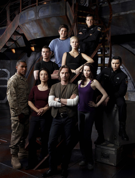 Stargate Universe cast shot