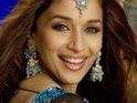 Madhuri Dixit refuses to appear in a film with Rajnikanth, saying that she misses her children in the US.