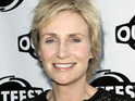 Jane Lynch reveals what role Olivia Newton-John will play when she guest stars on Glee.