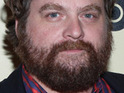 Zach Galifianakis says that he does not determine who he works with in his films.