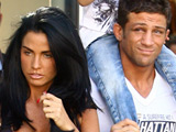 Katie Price, boyfriend Alex Reid and son Junior go shopping together in Brighton, Sussex