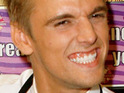 Aaron Carter reportedly proposes to his girlfriend at the cinema.