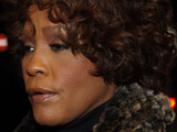 "Whitney Houston arriving back at her hotel after an appearance on German TV show ""Wetten Dass..."". Freiburg, Germany."