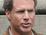 Will Ferrell on the set of his new movie 'The Other Guys', New York City