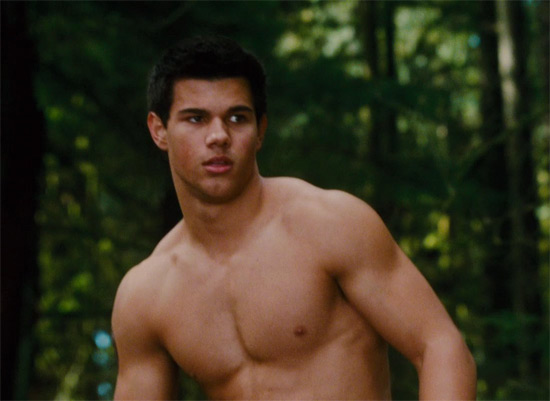 taylor lautner gay. Shirtless Taylor Lautner
