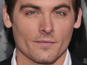 Kevin Zegers says kissing Miley in her new video was awkward as both of their partners were present.