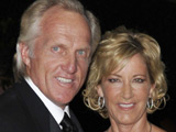 Chris Evert and Greg Norman