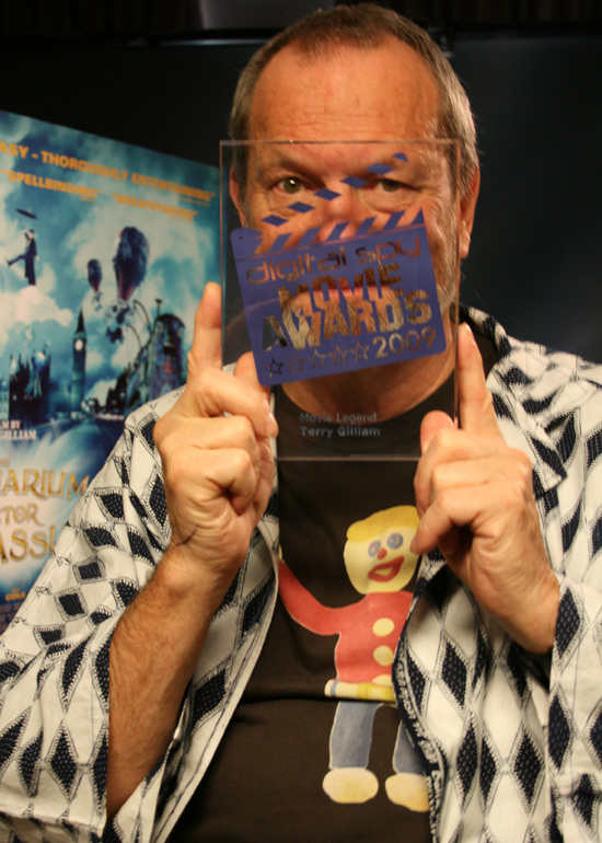 Digital Spy Movie Awards 2009 - Movie Legend Terry Gilliam