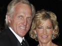 Golfing star Greg Norman marries Kirsten Kutner in a secret Caribbean beach ceremony.