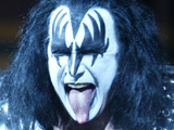 Gene Simmons and Kiss in concert in Washington DC