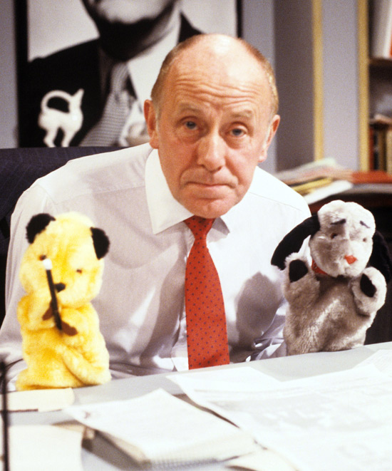 Sooty and Sweep with Richard Wilson