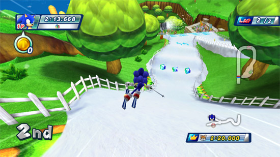 Gaming Review: Mario & Sonic at the Olympic Winter Games