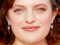 Elisabeth Moss reveals a potential romance between Peggy Olsen and Don Draper on Mad Men.
