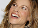 Hilary Swank reveals that she canceled her boyfriend's flight so that she could personal fly him back home.