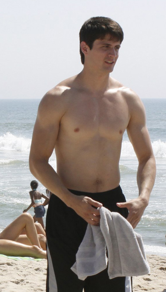 James Lafferty topless