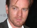 Ewan McGregor says that his wife only once had a problem with one of his on-screen sex scenes.