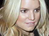 Jessica Simpson outside the Ritz Carlton Hotel returning from shopping at Barney's, New York City.