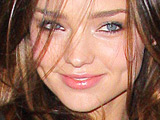 'Victoria's Secret' model Miranda Kerr outside MTV Studios in Times Square, New York City