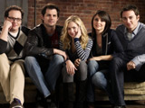 Cast shot of Life UneXpected