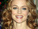 Heather Graham arrives to the The Hangover DVD release party. Las Vegas, Nevada.