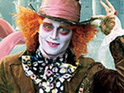 Alice In Wonderland, starring Johnny Depp, remains at the top spot of the US box office.