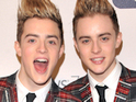 Jedward 'immortalised as comic villains'