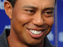 Tiger Woods is reportedly seen backstage at a Nickelback concert in Orlando.