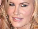 Daryl Hannah acts out against sex trafficking by riding with police from Oregon.