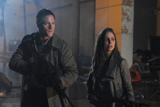 Tahmoh Penikett and Eliza Dushku