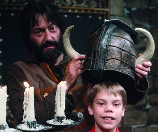 Hugo Myatt as Treguard in Knightmare