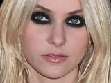 Actress Taylor Momsen at the launch of 'Love Rocks' fragrance by Victoria's Secret Beauty at Victoria's Secret SoHo Store, New York City