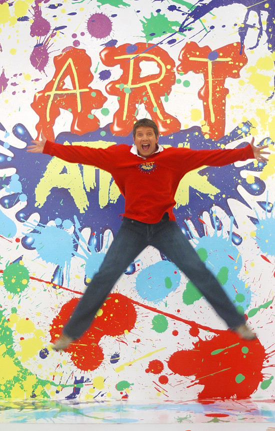 neil buchanan, art attack