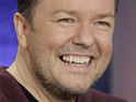 Ricky Gervais jokes that he doesn't care how his new animated show is received.