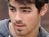 Joe Jonas arrives at his house in Los Feliz after working out, Los Angeles