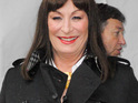 Anjelica Huston also reveals whether she'll sing in an upcoming episode.