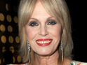 Joanna Lumley says that she never expected Absolutely Fabulous to become popular outside of England.