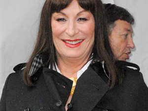 Anjelica Huston receives a star on the Hollywood Walk of Fame in Hollywood Los Angeles, California.