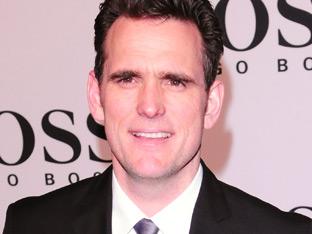 Matt Dillon at Mercedes-Benz Fashion Week