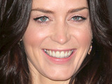 Emily Blunt at a photocall for 'The Wolfman'