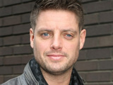 Keith Duffy outside the ITV television studios, London