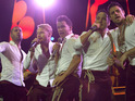 Boyzone include a tribute to late band member Stephen Gately as part of their current arena tour.
