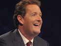 Piers Morgan admits that he is missing David Hasselhoff on the set of America's Got Talent.
