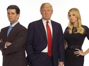 Donald Trump, Ivanka Trump and Donald Trump Jr.