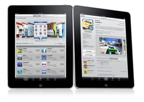 Apple iPad: App Store
