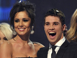 Joe McElderry and Cheryl Cole on The X Factor