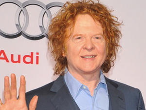 Mick Hucknall of Simply Red at Audi Night at Zur Tenne Hotel, Kitzbuehel, Austria